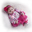 Χαμηλού Κόστους Κούκλες σαν αληθινές-Κούκλες σαν αληθινές Μωρά Κορίτσια 22 inch Παιδικό / Εφηβικό Παιδικά Γιούνισεξ Παιχνίδια Δώρο