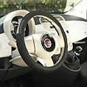 billige Sports hodetelefoner-LITBest Rattovertrekk til bilen Lær / Gummi 38 cm / 36 cm Svart Til Universell / Volkswagen / Toyota Alle år / Universell