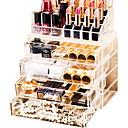 povoljno Pohrana nakita-skladištenje Organizacija Organizator kozmetičkih šminka Opeka Nepravilan oblik Noviteti