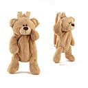 ราคาถูก สัตว์สตาฟ-ของเล่นยัดไส้ Toys Bear Cartoon Animal สัตว์ต่างๆ แฟชั่น สัตว์ต่างๆ แบ็คแพ็ค สำหรับเด็ก เด็กผู้หญิง 1 ชิ้น