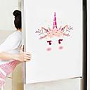 baratos Cinzeiros-adesivos de parede bonito dos desenhos animados - animal adesivos de parede animais / paisagem sala de estudo / escritório / sala de jantar / cozinha-b