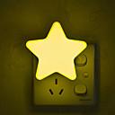 זול פנימית נורות לילה-1pc תקע בקיר צהוב יצירתי 220-240 V