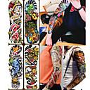 baratos Iscas de Pesca-4 pcs Tatuagens temporárias Amiga-do-Ambiente / Descartável Corpo / brachium / de volta Papel de Cartão