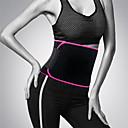 billige Voksenkostymer-kvinner og menn justerbar midje støtte belte neoprene faja lumbal tilbake svette belte fitness beltet midje trener