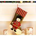 זול תיקי טיולים-קישוטי חג מולד שקיות מתנה גרביים חליפות סנטה Elk כיף טֶקסטִיל בגדי ריקוד ילדים צעצועים מתנות
