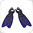 ราคาถูก อุปกรณ์ดำน้ำ-ดำน้ำตีนกบ Long Blade Adjustable Strap การดำน้ำ Snorkeling ซิลิโคน Neoprene - สำหรับ เด็ก