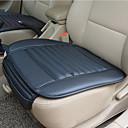 billige Setetrekk til bilen-pustende pu lær bambus kull bil interiør sete dekning pute for auto forsyninger kontorstol