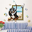 ราคาถูก สติกเกอร์ติดผนัง-สติ๊กเกอร์ประดับผนัง - Plane Wall Stickers สัตว์ต่างๆ / Still Life ห้องนอน / ในที่ร่ม