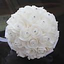 ราคาถูก ดอกไม้งานแต่งงาน-ดอกไม้สำหรับงานแต่งงาน ช่อดอกไม้ งานแต่งงาน แพรต่วน / แก้ว / Poron 11-20ซม.