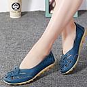 ราคาถูก รองเท้าแตะผู้หญิง-สำหรับผู้หญิง รองเท้าแตะ ส้นแบน หนังสัตว์ ฤดูใบไม้ผลิ & ฤดูใบไม้ร่วง สีชมพู / สีฟ้า / สีเขียวอ่อน
