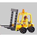 ราคาถูก บล็อกอาคาร-SHIBIAO Building Blocks ของเล่นชุดก่อสร้าง ของเล่นการศึกษา 37 pcs ยานพาหนะ Military ยก ที่เข้ากันได้ Legoing ดีไซน์มาใหม่ DIY คลาสสิก Forklift เด็กผู้ชาย เด็กผู้หญิง Toy ของขวัญ