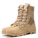 Χαμηλού Κόστους Αντρικές Μπότες-Ανδρικά Μπότες στην έρημο Δερμάτινο Φθινόπωρο / Φθινόπωρο & Χειμώνας Αθλητικό / Κλασσικό Μπότες Πεζοπορία / Περπάτημα Μη ολίσθηση Μπότες στη Μέση της Γάμπας Μαύρο / Καφέ