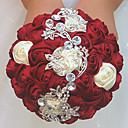 Χαμηλού Κόστους Σετ Σερβιρίσματος-Λουλούδια Γάμου Μπουκέτα Γάμου / Γαμήλιο Πάρτι Γκρο / Glass / Κράμα αλουμινίου-μαγνησίου 11-20 ίντσες