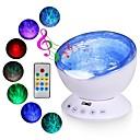 billige Projektorlys-havbølge projektor ledet natt lys bygget i musikkspiller fjernkontroll 7 lys kosmos stjerne luminaria for barn soverom