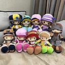 Χαμηλού Κόστους Πρωτοποριακά παιχνίδια-35cm Κορίτσι κορίτσι Βελούδινη κούκλα Χαριτωμένο Ασφαλής για παιδιά Non Toxic Ύφασμα Χνουδωτό Αγορίστικα Κοριτσίστικα Παιχνίδια Δώρο / Μεγάλο Μέγεθος / Lovely