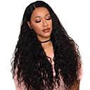 ราคาถูก วิกผมสังเคราะห์-วิกผมสังเคราะห์ Afro Kinky ตัดผมหลายชั้น ผมปลอม นานมาก Black สังเคราะห์ 56~60 inch สำหรับผู้หญิง มาใหม่ ดำ