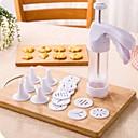 Χαμηλού Κόστους Office Basics-Πλαστική ύλη Ανοξείδωτο Ατσάλι / Σίδηρο DIY Εργαλεία Manual Πολλαπλών Λειτουργιών ψήσιμο Εργαλείο Εργαλεία κουζίνας Καινοτόμα εργαλεία κουζίνας Ψήνω 1set