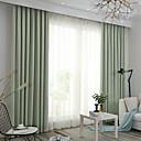 billige Vegglamper-Moderne Blackout To paneler Gardin Soverom   Curtains