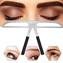 billige Maskaraer-øyenbryn formende sjablonger stell kit sminke shaper sett mal skjønnhetsverktøy justerbart sminke verktøy