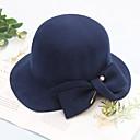 povoljno Party pokrivala za glavu-Vuna kape / Šeširi s Mašnica / Cvijet / Trim 1 komad Vjenčanje / Dnevni Nosite Glava