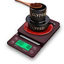 Χαμηλού Κόστους LED Φωτολωρίδες-3kg Φορητά Αυτόματο Off Πολυ-λειτουργικό Ηλεκτρονική κλίμακα κουζίνας Ψηφιακή κλίμακα καφέ Η ζωή στο σπίτι Κουζίνα καθημερινά Εξωτερικά ταξίδια