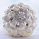 Χαμηλού Κόστους Λουλούδια Γάμου-Λουλούδια Γάμου Μπουκέτα Γάμου / Γαμήλιο Πάρτι Γκρο / Glass / Κράμα αλουμινίου-μαγνησίου 11-20 ίντσες