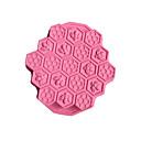 billige Stativer og holdere-1pc silica Gel Til Småkake Til Kake Rektangulær Cake Moulds Bakeware verktøy