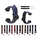 baratos Perucas de Cabelo Natural-Pulseiras de Relógio para Approach S6 / Approach S5 / Approach S20 Garmin Pulseira Esportiva Couro Legitimo Tira de Pulso