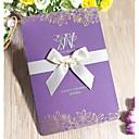 """ราคาถูก การ์ดงานแต่ง-พับด้านข้าง เชิญแต่งงาน 50pcs - การ์ดส่งบัตรเชิญ Pearl Paper 7 1/2 """"×6 1/4"""" (19*13.5ซม.)"""