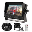 Χαμηλού Κόστους Κάμερα Οπισθοπορείας Αυτοκινήτου-οπτικό κιτ κάμερας με οθόνη 7 LCD&αμπέραζ; 120 ευρυγώνιος κάμερα οπίσθιας όψης ip68 αδιάβροχο 18ir νυχτερινή όραση κάμερα αναστροφής για φορτηγό ρυμουλκούμενο λεωφορείο van γεωργία βαριά μεταφορά
