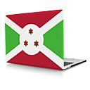 billige Voksenkostymer-burundi flagg pvc hardt dekselskall til macbook pro air retina telefonsak 11/12/13/15 (a1278-a1989)