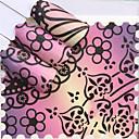 Χαμηλού Κόστους Μαξιλαροθήκες-1 pcs Αυτοκόλλητα Σειρά Τοτέμ τέχνη νυχιών Μανικιούρ Πεντικιούρ Mini Style / Ασφάλεια / Εργονομικός Σχεδιασμός Στυλάτο / Απλός