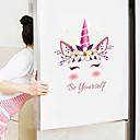 baratos esponjas de maquiagem-adesivos de parede bonito dos desenhos animados - animal adesivos de parede animais / paisagem sala de estudo / escritório / sala de jantar / cozinha-c