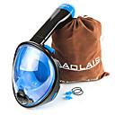 ราคาถูก อุปกรณ์ดำน้ำ-หน้ากากดำน้ำ Full Face Masks หน้าต่างเดียว - การว่ายน้ำ เจลซิลิก้า - สำหรับ เด็ก สีชมพู / 180 Degree / การรั่วไหลของหลักฐาน / ป้องกันหมอกควัน / Dry Top