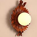 billige Kjøkkenverktøy Tilbehør-land blomst vegg sconce harpiks veggen belysning fixtur søt tradisjonell / klassisk / land flush mount vegg lys butikker / kafeer / bad harpiks vegg lys