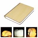 Χαμηλού Κόστους Φωτιστικά Καθρέφτη-1pc Βιβλίο Επιτραπέζια νύχτα Ενσωματωμένη μπαταρία Li-Battery Πτυσσόμενο / Επαναφορτιζόμενο / Εύκολη μεταφορά