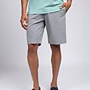 billige Golfantrekk-Herre Shorts Golf Løp treningsklær utendørs Sommer / Mikroelastisk / Fort Tørring / Pustende / Helfarge