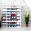 billige Skraldespand-4stk Oppbevaringskasser Plastikker Lagring Smart Hjem