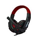 baratos Ferragens para Portas e Fechaduras-A7 Fone de ouvido para jogos Com Fio Games Estéreo Com Microfone Controle InLine
