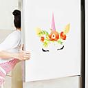 baratos Cinzeiros-adesivos de parede bonito dos desenhos animados - animal adesivos de parede animais / paisagem sala de estudo / escritório / sala de jantar / cozinha-d