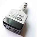 baratos Luzes Traseiras para Carros-Conversor de energia do carro inversor 12 v / 24 v para adaptador de 220 v carregador de isqueiro do cigarro do carro conversor powerusb