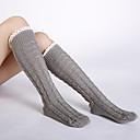 Χαμηλού Κόστους Αντρικά Εσώρουχα & Κάλτσες-Γυναικεία Sexy Καλτσοδέτες Πολύ Ζεστό Μαύρο Σκούρο γκρι Ανοιχτό Γκρι Ένα Μέγεθος