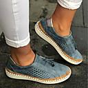 ราคาถูก รองเท้าแตะและรองเท้าโลฟเฟอร์สำหรับผู้หญิง-ทุกเพศ รองเท้าส้นเตี้ย ส้นแบน ปลายกลม พู่ ผ้าใบ ฤดูใบไม้ผลิ & ฤดูใบไม้ร่วง สีดำ / สีเขียว / แดง