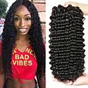 זול תוספות משיער אנושי-3 חבילות שיער ברזיאלי גל עמוק שיער בתולי שיער ראמי טווה שיער אדם שיער Bundle פתרון חפיסה אחת 8-28 inch צבע טבעי שוזרת שיער אנושי מפל מים קלאסי הגעה חדשה תוספות שיער אדם