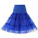 billige Smartklokker-Bryllup / Bryllupsfest Underkjoler Polyester / Tyll Knelengde لون واحد / Tutuer & Skjørter med