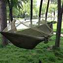 Χαμηλού Κόστους Καθίσματα & Σέλες-SWIFT Outdoor Κούνια κάμπινγκ με κουνουπιέρα Διπλή αιώρα Εξωτερική Φορητό Αναπνέει Υδατοστεγανό Αλεξιπτωτισμένο νάιλον με Carabiners και Strips Tree για 2 άτομα Κυνήγι Ψάρεμα Πεζοπορία