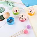 Χαμηλού Κόστους Αξεσουάρ για εργαλεία κουζίνας-χαριτωμένο cartoon μολύβι πλαστικό μολύβι ξύστρα για παιδιά φοιτητής χαρτικά