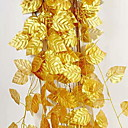 baratos Flores Artificiais & Vasos-Flores artificiais 1 Ramo Suspenso Contemporâneo Moderno Plantas Guirlandas & Flor de Parede