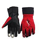 povoljno Motociklističke rukavice-zimske rukavice za motocikle održavaju se toplim s nepromijenjenom manžetnom koja štiti rukavicu za jahanje na dodir