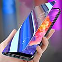 billige TWS Sann trådløse hodetelefoner-Etui Til Huawei Huawei P20 / Huawei P20 Pro / Huawei P20 lite Støtsikker / med stativ / Speil Heldekkende etui Ensfarget PC